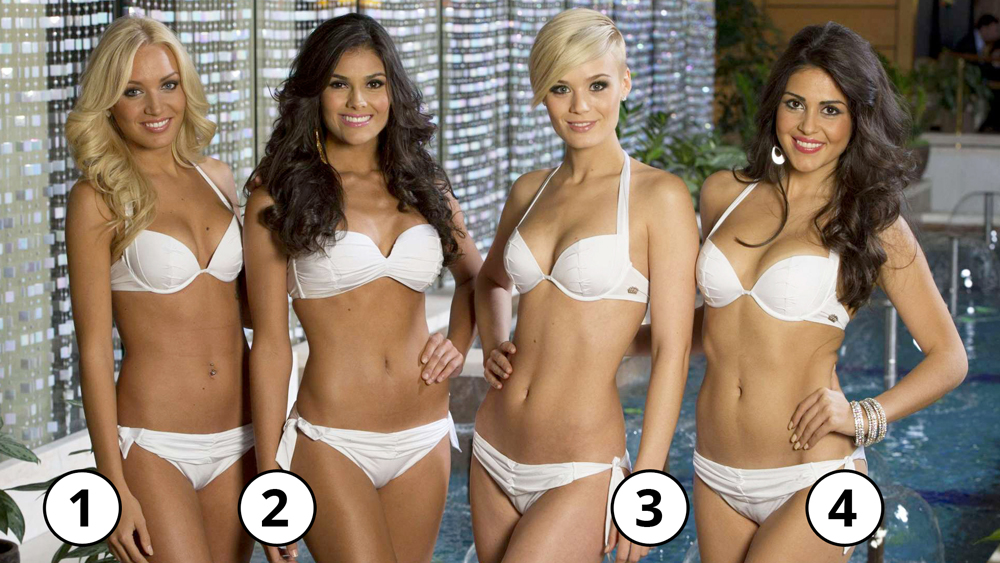 Which of these women is the most beautiful, in your opinion?