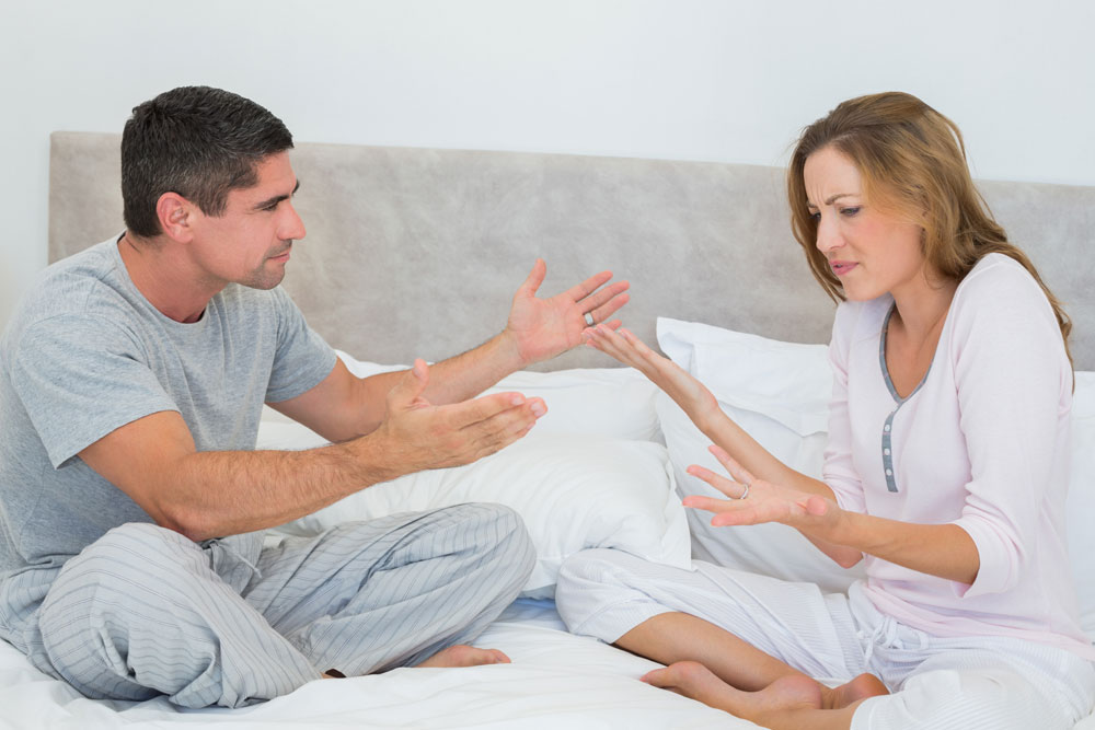 Wife shows no intimacy