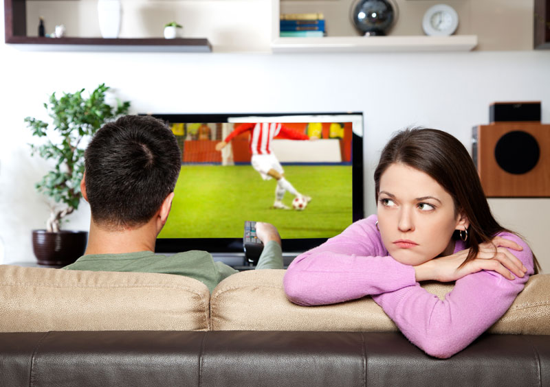 Wife unhappy that husband has given up on trying to achieve anything big in life