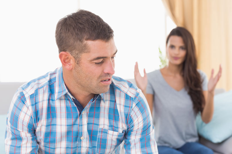 Wife unhappy with insecure husband