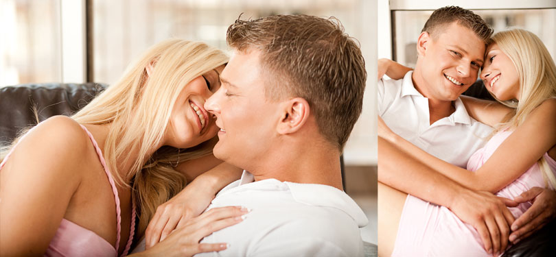 Woman feeling properly turned on by her man