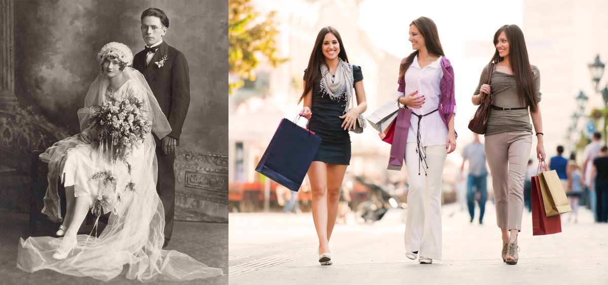 Women: 1900 vs. Today