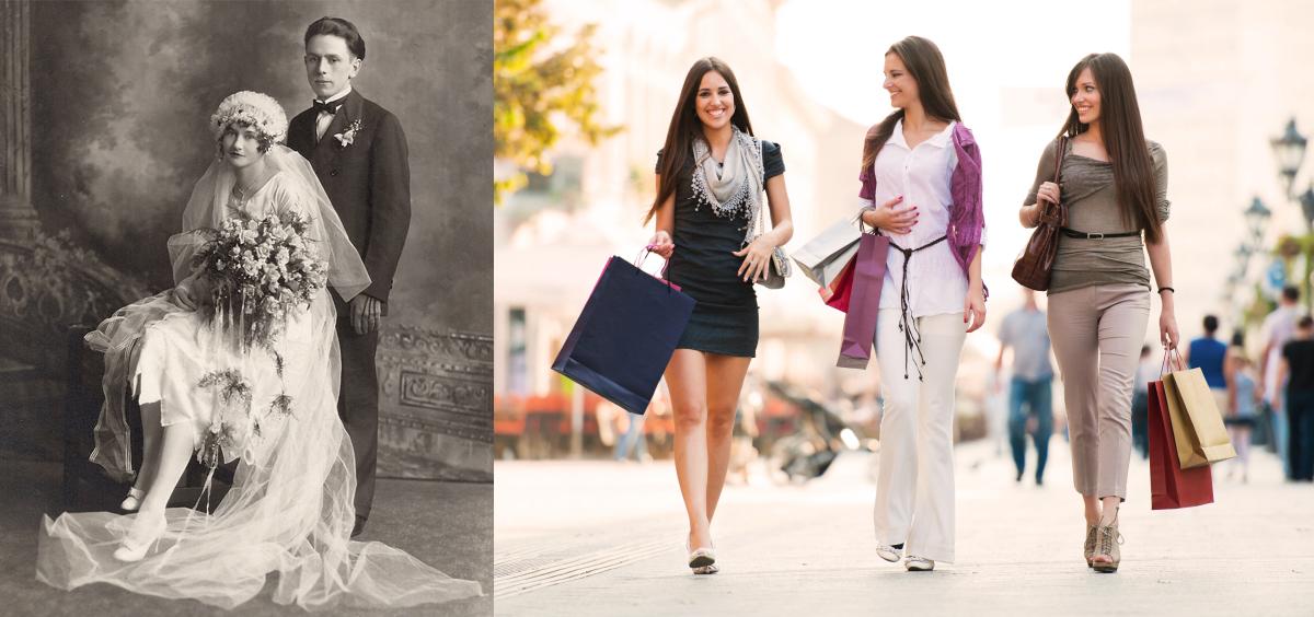 Women: 1900 vs. Today
