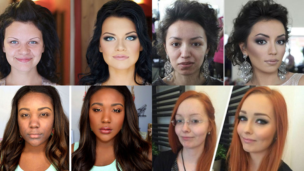 Women prepared for attraction success due to make up